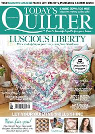 Sew-up our luscious Liberty Quilt with Today's Quilter issue 25 & by zwilliams July 21, 2017 11:18 am Adamdwight.com