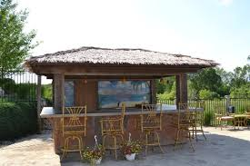 Wonderful Home Pool Tiki Bar Patio By Brighton Pools And Spas Legendary Escapes In Decorating Ideas