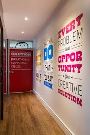 creative office walls. Home Office : Best Creative Ideas Decor Wall Design Walls Digital Agency Headquarters Southern Henrique Steyer Inspiration New For Small Rooms L