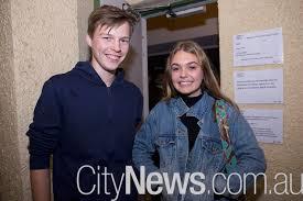 Socials / At the opening night of 'Antigone', Gorman House ...