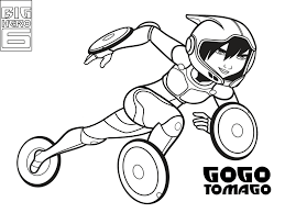 Big Hero 6 Coloring Pages Print And Colorcom