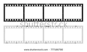 Film Picture Template Film Template Frames Empty Developed стоковые фотографии