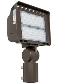 westgate led outdoor flood light fixture with slip