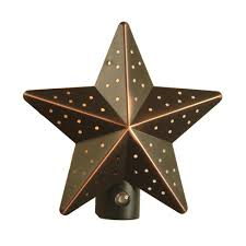 amerelle venetian bronze tin star automatic night light vb venetian bronze tin star automatic night light
