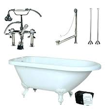 54 inch tub shower combo x bathtub left hand drain inch acrylic classic tub package 54 tub shower combo
