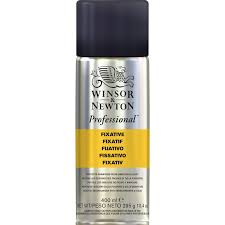 Winsor Newton Professional Fixative Aerosol 400ml