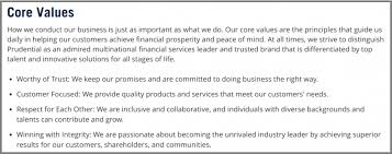 Personal Value Statement Examples Stunning 48 Core Value Statements From 48's Top Organizations