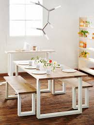 Dining Table With 2 Benches » Gallery DiningDining Room Table With Bench Seats