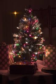 Decorating Wonderful Tabletop Christmas Tree For Chic Christmas Small Fiber Optic Christmas Tree Target