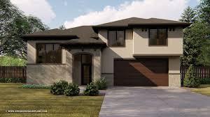 Home Design Mediterranean Style Split Level Mediterranean House Plan Hannon Split Level