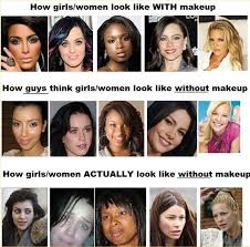 look great ugly without makeup image led be pretty if how