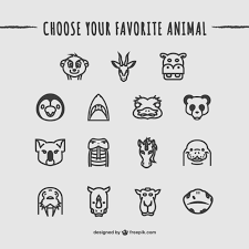 Animal Icon Animals Icons Pack Vector Free Download