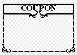 Coupon Clipart Free Clipart Coupon Template Blank Coupon Clip Art Free Transparent
