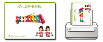 Baby Sign Language Chart Template Impressive Baby Sign Language Flash Cards