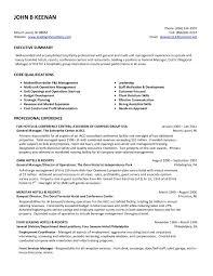 Sample Resume Hotel Assistant General Manager Save Restaurant