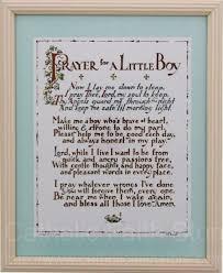 prayer for a little boy framed wall plaque gcpp001 catholic baptism gifts catholic kids