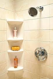 glass shower shelf how to install glass shower corner shelf glass corner shower shelf uk