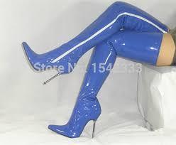size 13 women new arrival hot 12 cm women high heel boots thigh high boots size