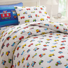 train pillow sham sheet set duvet cover one piece