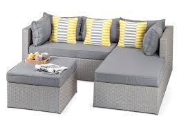 furniture range calabria grey outdoor rattan furniture contemporary sofa set