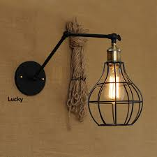 retractable lighting. loft rh industrial e27 american country pulley pendant lights adjustable wire lamps retractable lighting wall sconces t