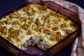leftover turkey casserole.  Leftover Leftover Thanksgiving Casserole U2013 Pin It With Turkey
