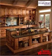 Rustic Country Kitchens Rustic Country Kitchen Love Homes Ideas Pinterest Will