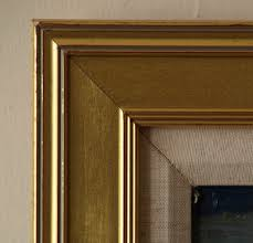 gold frame thick outside ribbing