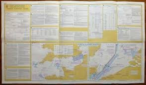 Admiralty Chart 2675 Vintage Admiralty Chart English Channel Passage Planning