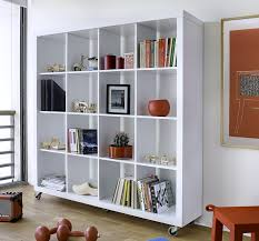 Decoration: Shelf Room Dividers Attractive Excellent Bookshelves As 51 In  Minimalist With Intended For 12