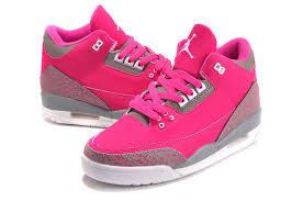 jordans shoes for girls 2015. women air jordan 3 girls size pink grey cheap for sale-2 jordans shoes 2015