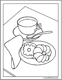 Tiered Birthday Cake Coloring Pages Tiered Birthday Cake Coloring