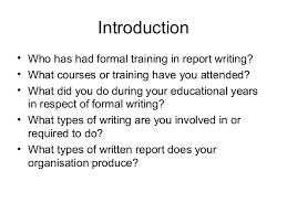 Aim  amp  Objective     To present report writing from a project management     SlideShare