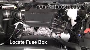 interior fuse box location ram ram slt locate interior fuse box and remove cover