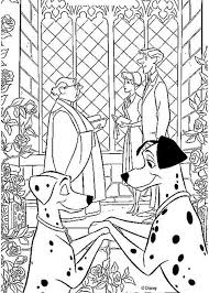 Anita And Roger Wedding Coloring Pages Hellokidscom