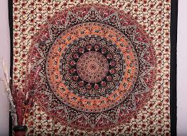 handicrunch mandala tapestry tapestries indian tapestry hippie tapestry indian wall hanging indian