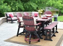round tables are available in 3 sizes 38 48 and 60 and 3 heights dining counter and bar