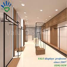 Retail Shop Furniture Design Clothes Shop Interior Decoration Design And Retail Clothes