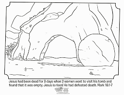 Free Coloring Pages For Easter Sunday School Bltidm