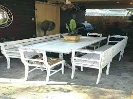 post faux wood outdoor dining table folding patio tables metal and wood outdoor dining table