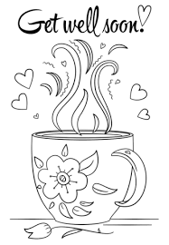 Get Well Soon Coloring Page Free Printable Coloring Pages