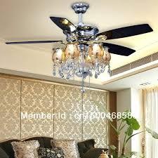 ceiling fans with chandelier light ceiling fan crystal chandelier light kits photo 8 black ceiling fan
