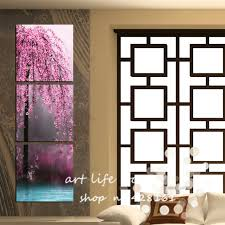 gallery of large vertical wall art sakura andrews living arts fascinating comfortable nice 9