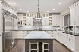 All White Kitchen Designs Simple Design