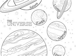 Coloring Pages Planets Coloring Pages Of Planets Solar System