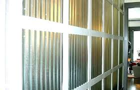 corrugated steel wall interior panels metal tin walls panel dazzling covering kitchen for pane