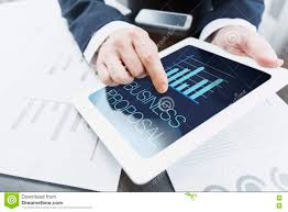 Businessman Presenting Business Proposal Stock Image Image Of