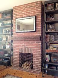 brick floor hearth and home the fireplace