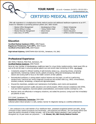 Example Of A Medical Assistant Resumes Medical Assistant Resumes And Cover Letters Cover Letters