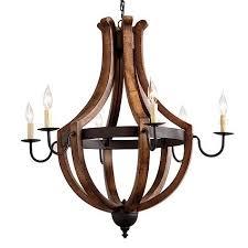 ballard design wine barrel chandelier